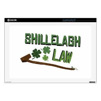 Shillelagh Law Laptop Skins