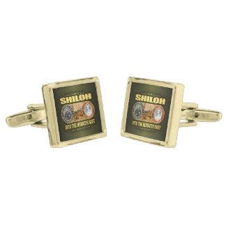 Shiloh (FH2) Gold Finish Cufflinks