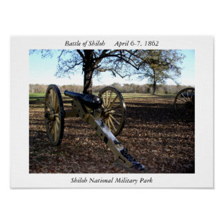 Shiloh National Military Park Poster