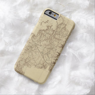 Shiloh National Military Park Tennessee Map (1934) Barely There iPhone 6 Case