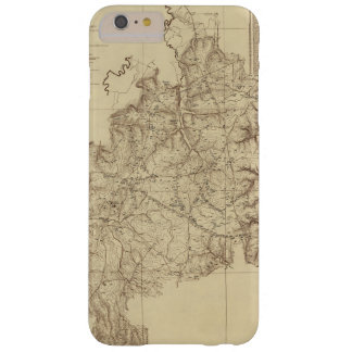 Shiloh National Military Park Tennessee Map (1934) Barely There iPhone 6 Plus Case