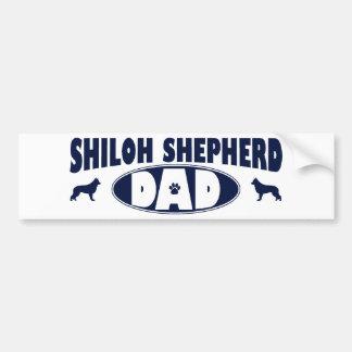 Shiloh Shepherd Dad Car Bumper Sticker