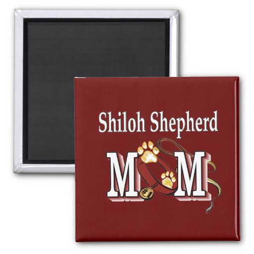 Shiloh Shepherd MOM Gifts 2 Inch Square Magnet