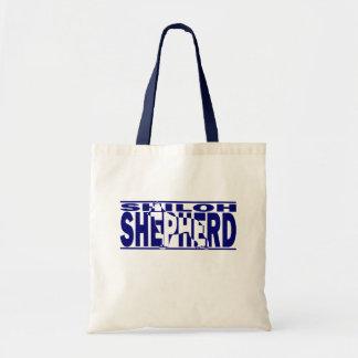Shiloh Shepherd Silhouette Budget Tote Bag