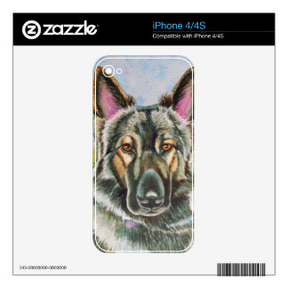 Shiloh Shepherd Skins For The iPhone 4
