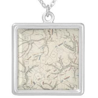Shiloh, Tennesse Square Pendant Necklace