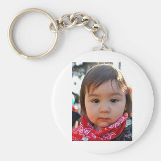 Shiloh's Style Basic Round Button Keychain