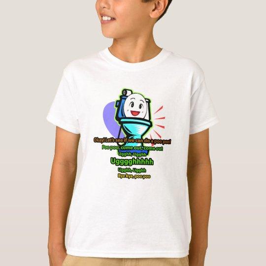 Shimajiro Toilet Training T-Shirt