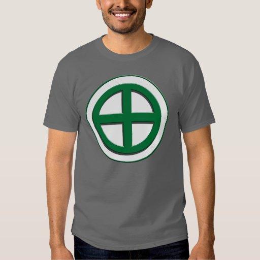 Shimazu Clan Mon - Green/White Field T-Shirt