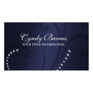 Shimmer and Crystals Business Card