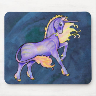 Shimmer Blossom Mouse Pad