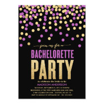SHIMMER & SHINE | BACHELORETTE PARTY INVITATION