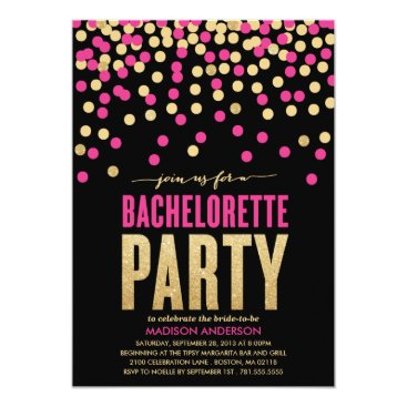 FINEandDANDY SHIMMER & SHINE | BACHELORETTE PARTY INVITATION
