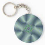 Shimmerine - Fractal Art Keychain