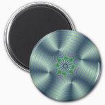 Shimmerine - Fractal Art Magnet