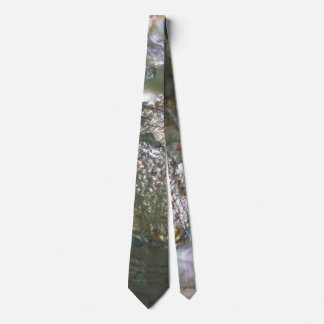 Shimmering Abalone Seashell, Beautiful Nature Neck Tie