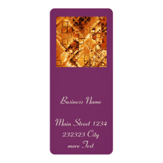 shimmering and gleaming,golden 4x9.25 paper invitation card