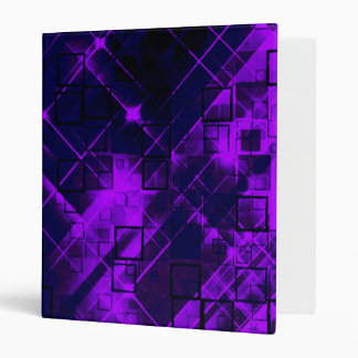 shimmering and gleaming purple vinyl binder