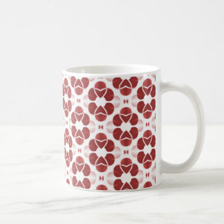 Shimmering Glam Mug, Red Coffee Mug