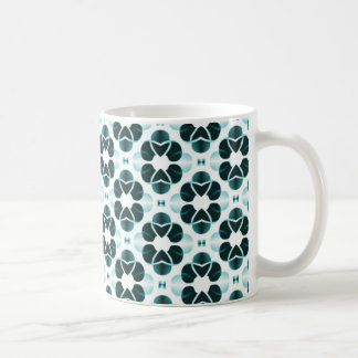 Shimmering Glam Mug, Teal Coffee Mug
