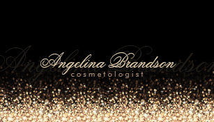 Cosmetologist business cards 5000 cosmetologist business card shimmering gold cosmetologist damask black card colourmoves