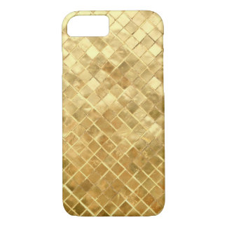 Shimmering Gold Weave iPhone 7 Case