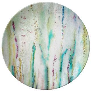 Shimmering Grass Porcelain Dinner Plate