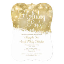 Shimmering Holiday Party Invitation