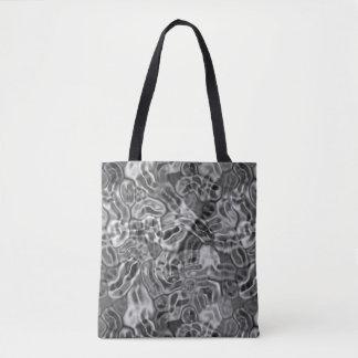 Shimmering Liquid Silver Shoulder Bag