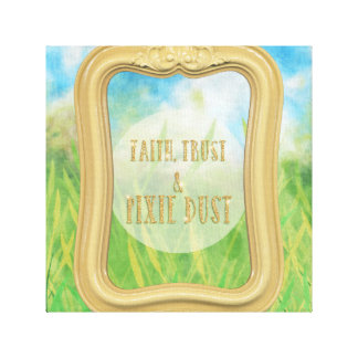 Shimmering Pixie Dust Canvas