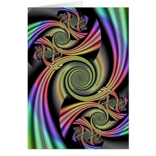 Shimmering Rainbows Card