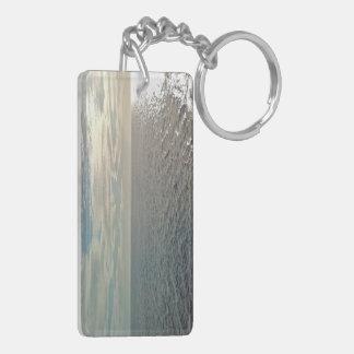Shimmering Seas Acrylic Keychain