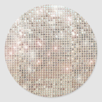 Shimmering Sequins Sticker