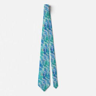 Shimmering Shoals around the neck Tie