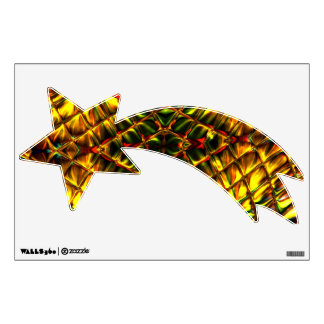 Shimmering Shooting Star Wall Decal