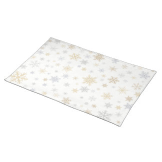 Shimmering Snow Placemat