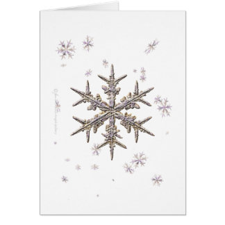 Shimmering Snowflake Card