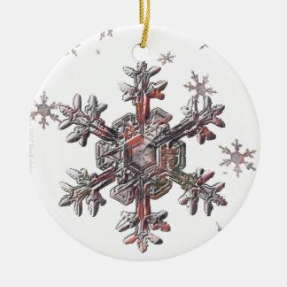Shimmering Snowflake Christmas Ornaments