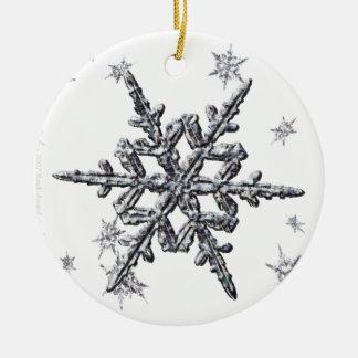 Shimmering Snowflake Christmas Tree Ornament