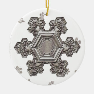 Shimmering Snowflake Ornament