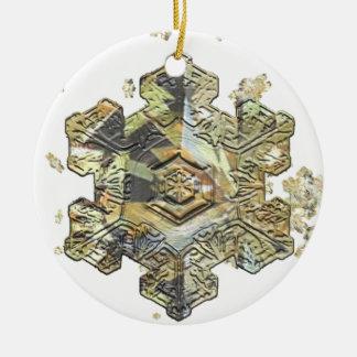 Shimmering Snowflake Ornaments