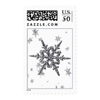 Shimmering Snowflake Stamps