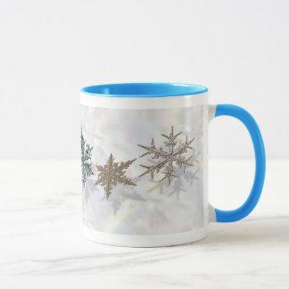 Shimmering Snowflakes Drinkware Mug
