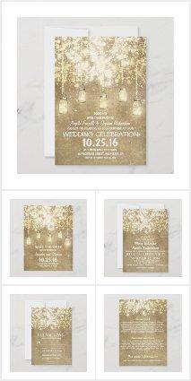 Shimmering String Lights Wedding Set