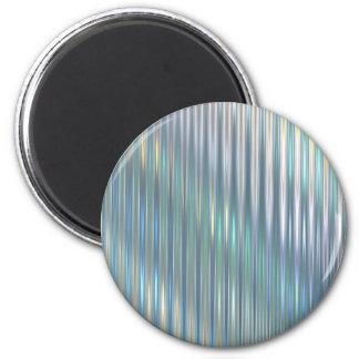 Shimmering Stripes Refrigerator Magnets