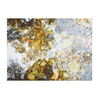Shimmering Water Canvas Art