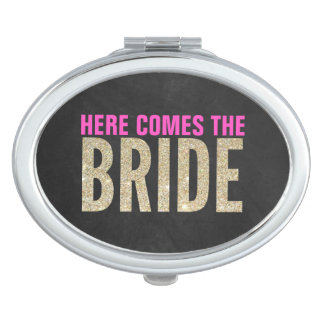 Shimmery Chic Bride Mirror - Party favor