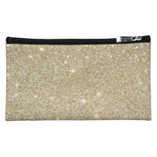 Shimmery Chic Makeup Bag