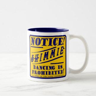 """SHIMMIE DANCING"" Coffee Mug"