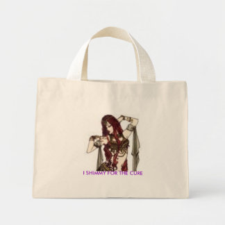 ShimmieS for the cure tote bag